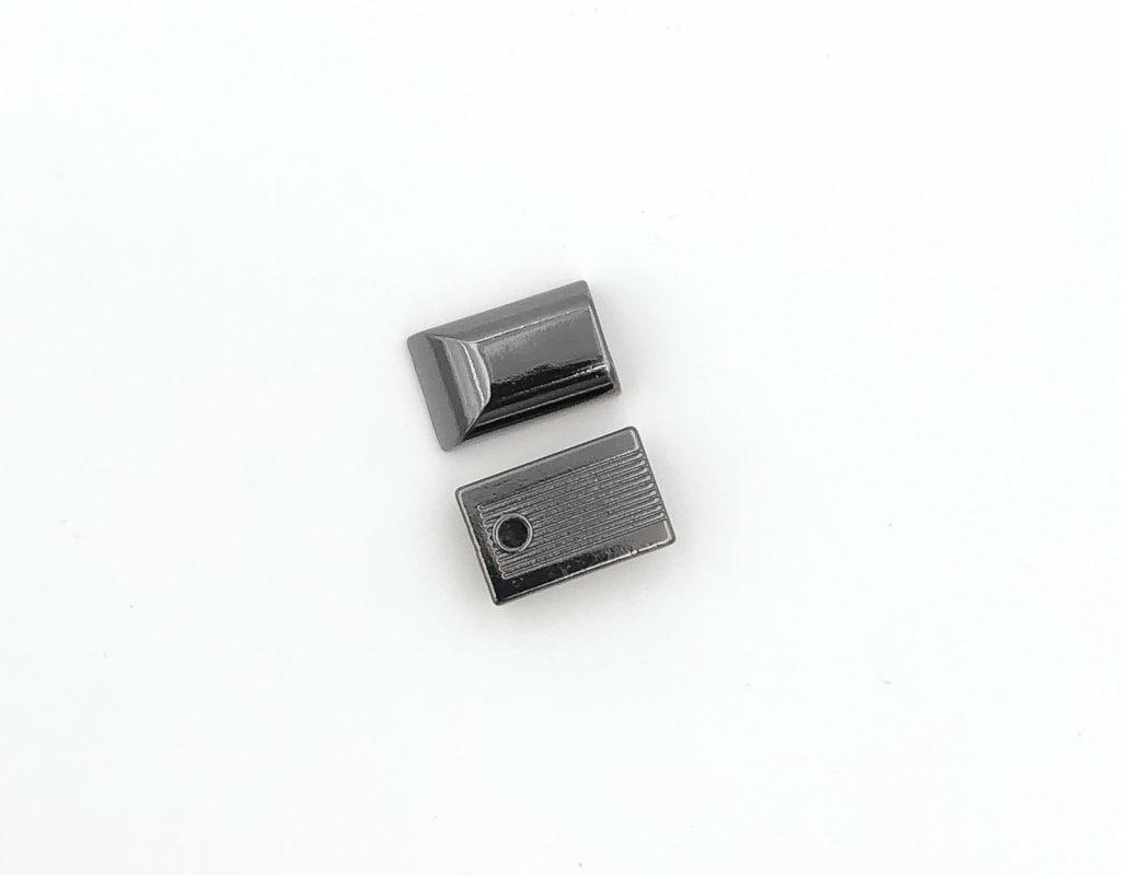Наконечник на молнию T5 (темный никель)