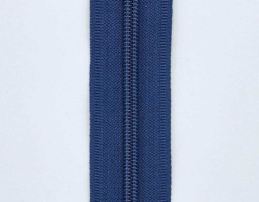 Молния рулонная пластик. Т5 (синяя)