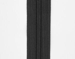 Молния рулонная пластик. Т5 (черная)