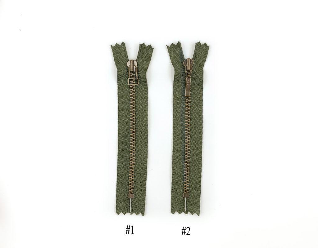 Молния YKK Т3 (зеленый)