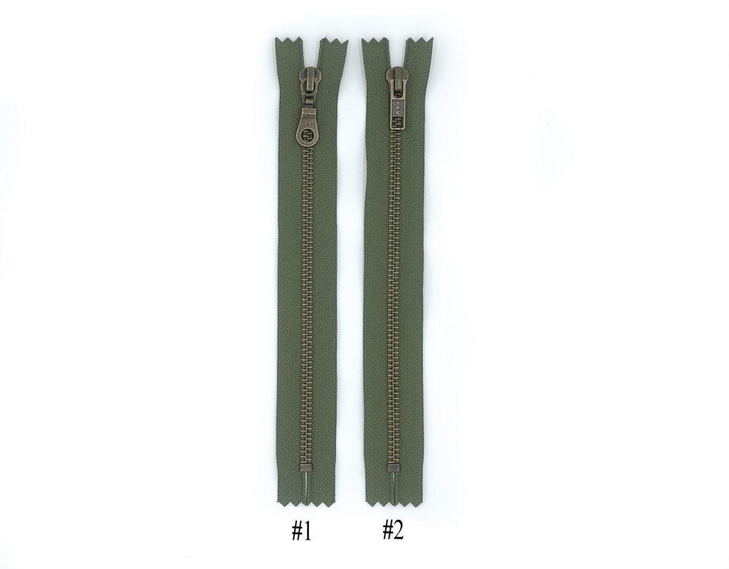 Молния YKK Т5 (зеленый)