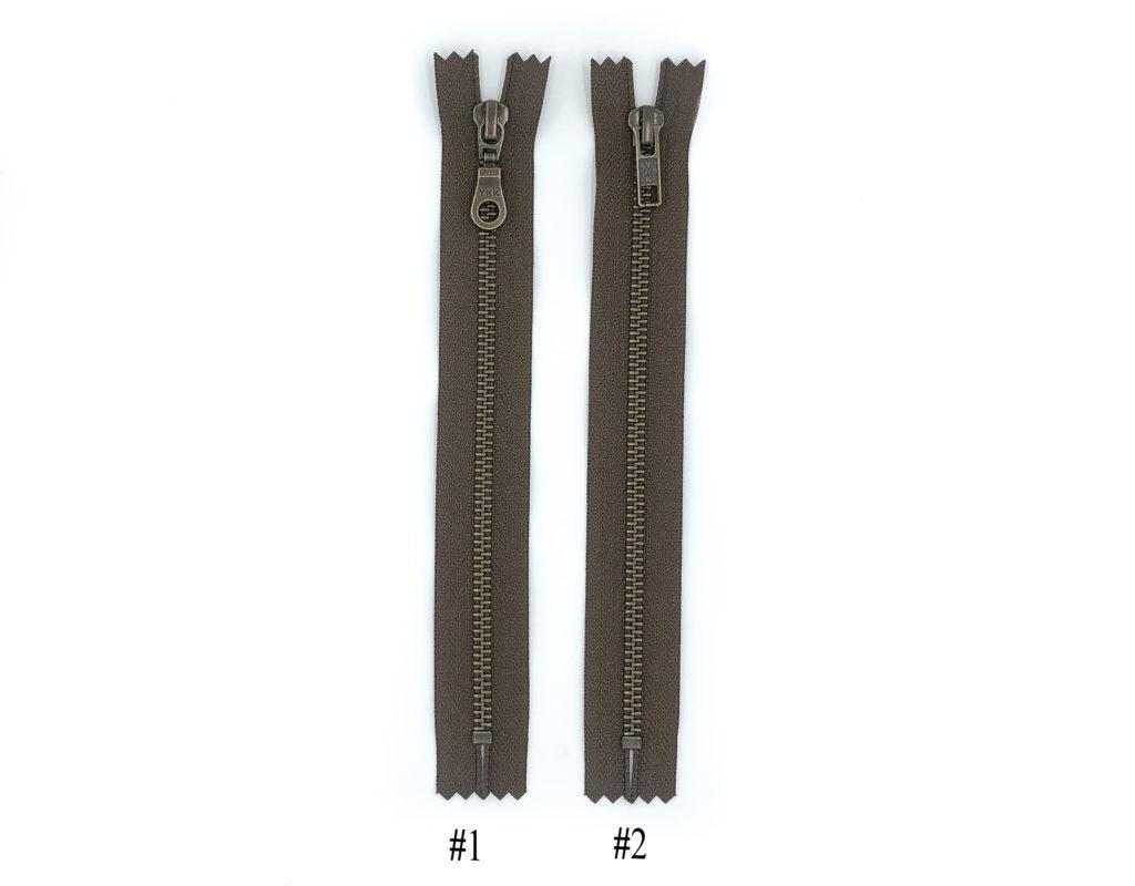 Молния YKK Т5 (коричневый)