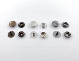 Кнопки кольцевые Big accessories 12,5 мм