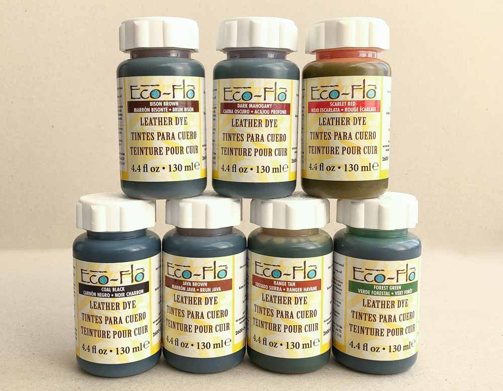 Краска для кожи Eco-Flo Leather Dye