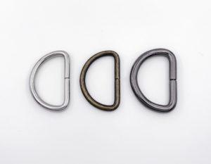 Полукольцо круглое 25 мм