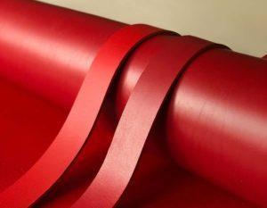 Ременные заготовки арт. Bull Rosso 3.6-3.8 мм (Италия)