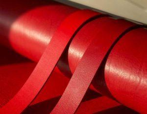 Ременные заготовки арт. Florida Rosso 3.5 мм (Италия)
