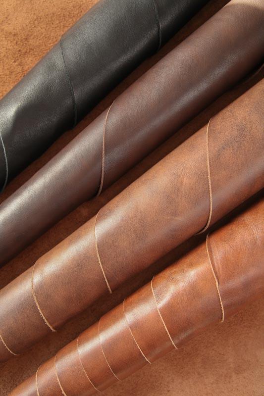 Кожа Шерон Темно-коричневый 1.3-1.5 мм