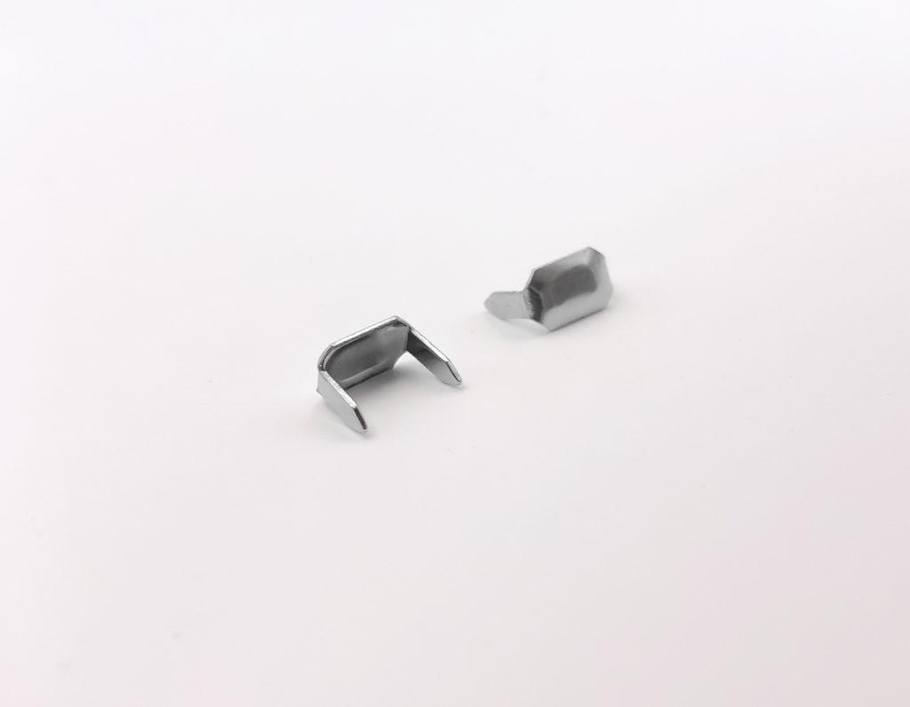 Скрепка для шлевки (никель)