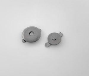 Кнопка магнитная 14 мм (темный никель)