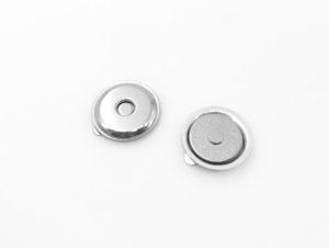Кнопка магнитная 18 мм (никель)