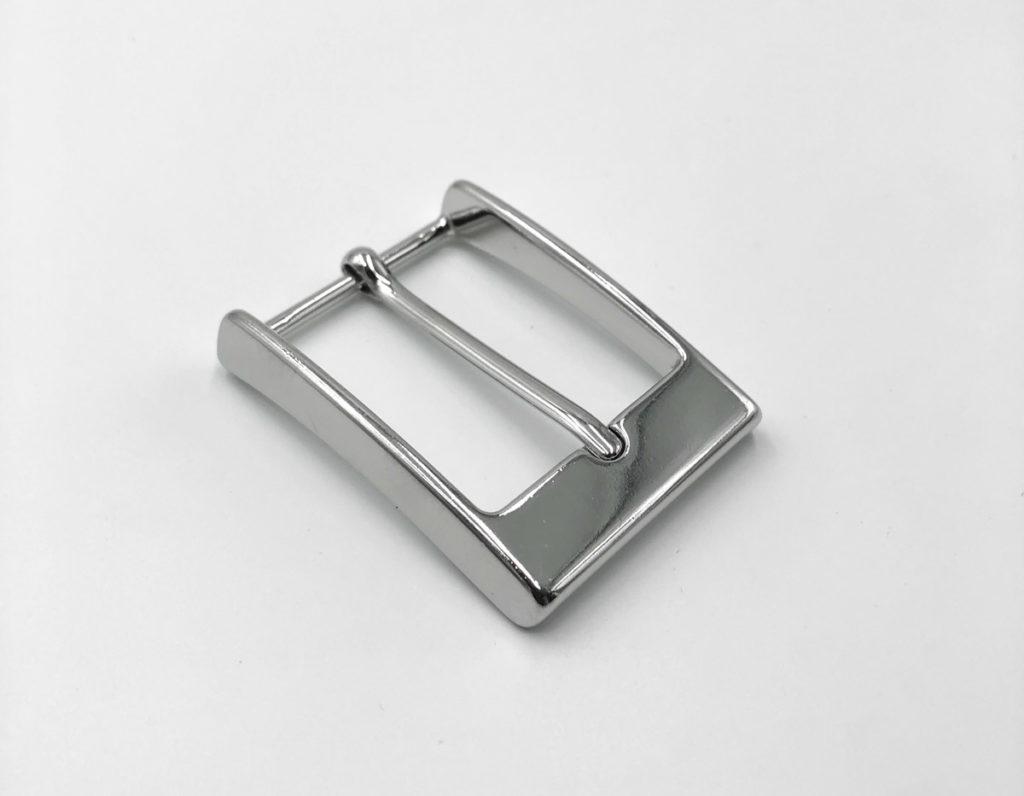 Пряжка для ремня 35 мм (никель)