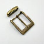 Пряжка для ремня 35 мм (антик)-1