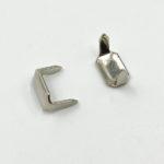 Скрепка для шлевки (никель)-5