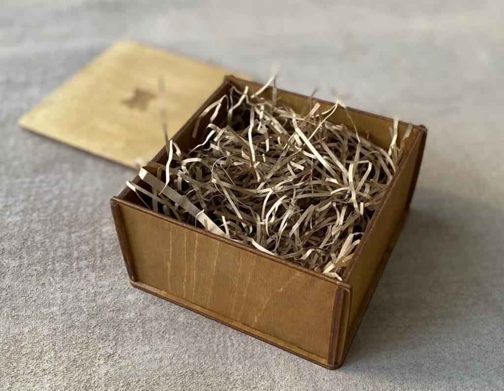 Бумажный наполнитель для коробок (крафтовый)