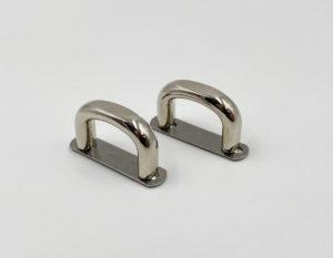 Рамка ручкодержатель 17 мм (никель)