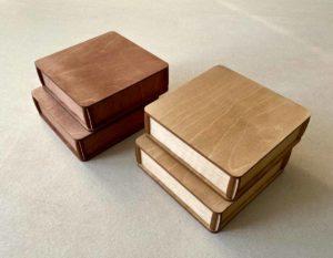 Деревянная коробка №1 (12*12*3 см)
