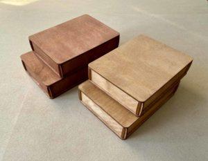 Деревянная коробка №2 (16*12*3 см)