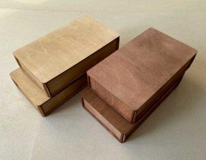 Деревянная коробка №3 (22*12*4 см)