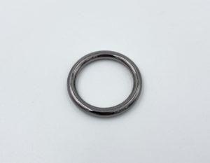 Кольцо литое 30 мм (темный никель)