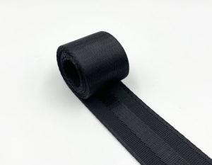 Стропа плотная 38 мм (черная)
