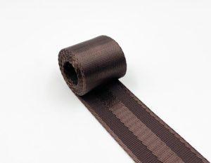 Стропа плотная 38 мм (коричневая)
