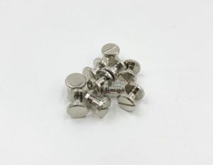 Ременные винты 6 мм (никель)