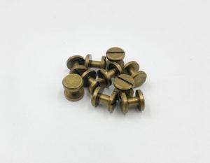 Ременные винты 6 мм (антик)