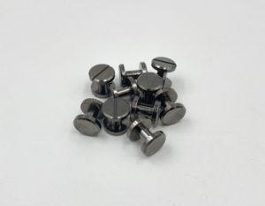 Ременные винты 6 мм (черные)