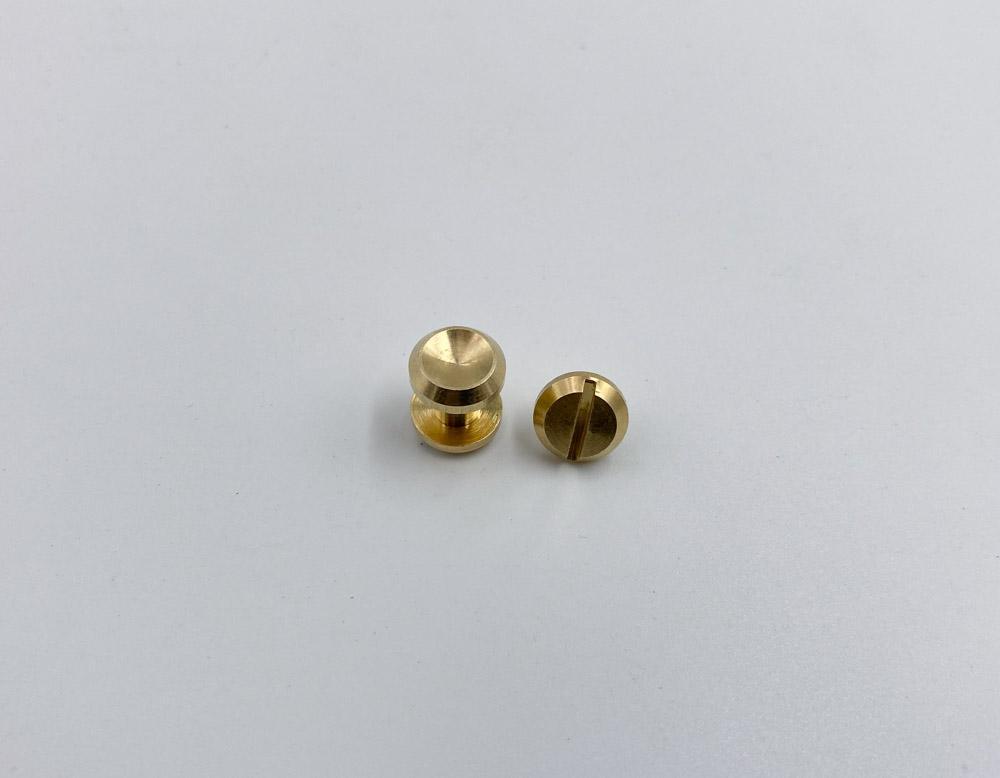Ременные винты 6 мм (латунь)