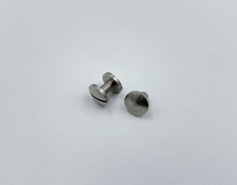 Ременные винты 6 мм (матовые)