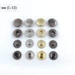 """Кнопки """"Альфа"""" Big accessories 12,5 мм-1"""