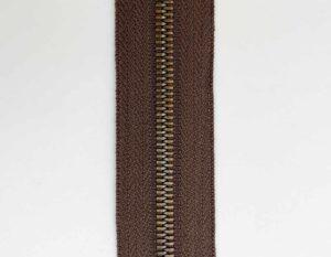 Молния рулонная метал. Т5 (коричневая/антик)