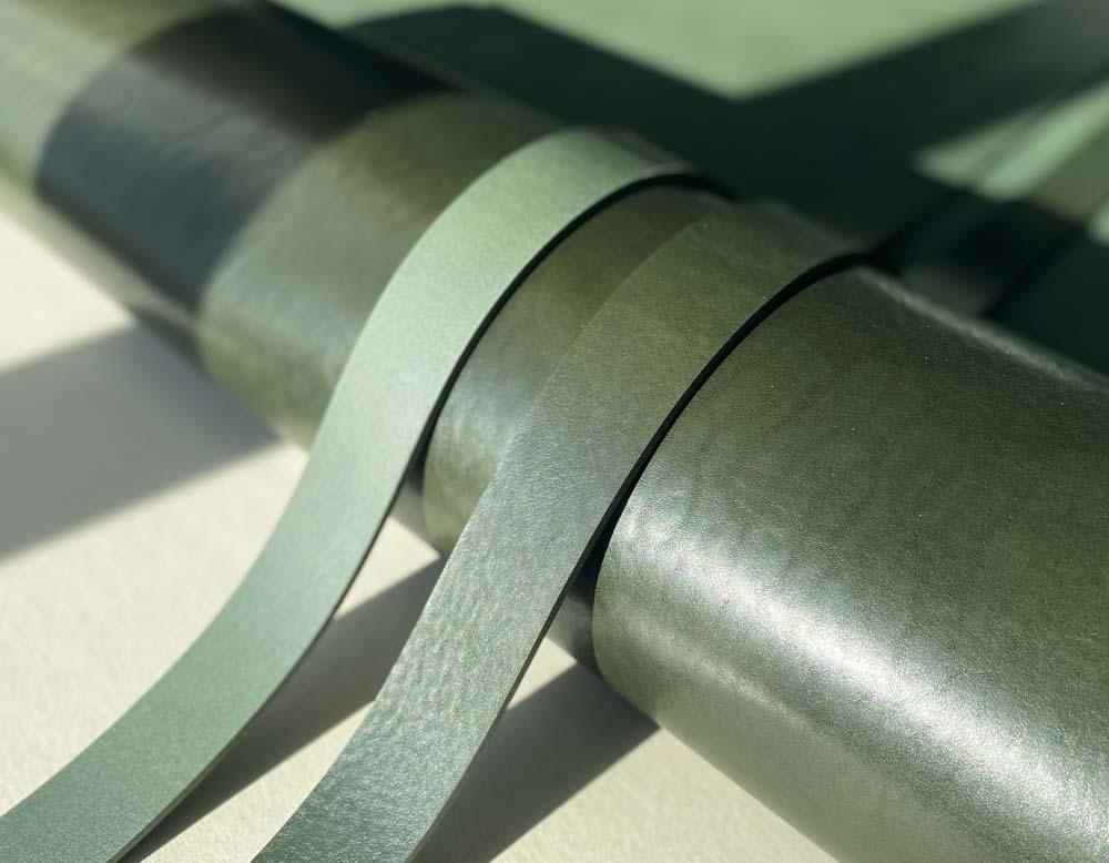 Ременные заготовки арт. Bull 3.6-3.8 мм (Smeraldo)